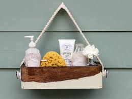 Handmade Bathroom Accessories by Make A Chic Bath Caddy For Guests Hgtv