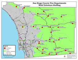 Map Of San Diego by Our Backyard San Diego Regional Fire Foundation