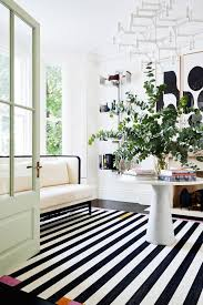 Black And White Living Room Rug 15 Times A Rug Made The Room Mydomaine