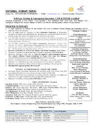 Certified Software Quality Engineer Shyamal Kumar Surai Cv