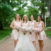 soft pink bridesmaid dresses light pink bridesmaids dresses elizabeth designs the