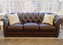 Classic Leather Sofa by Classic Leather Montclair Sofa Curriers Leather Furniture