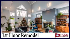 before u0026 after remodel of kitchen great room u0026 masterbath youtube