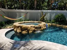 engineered u0026 natural rock features custom swimming pool and spas