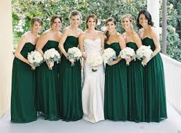 green bridesmaid dresses best 25 emerald green bridesmaid dresses ideas on