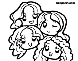coloring page little mix color online coloringcrew 569594