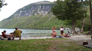 Vermont beaches images Vermont nude beach fans against parking lot boardwalk jpg