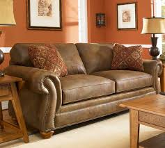 Brown Leather Sleeper Sofa Alluring Broyhill Sleeper Sofa U2013 Interiorvues