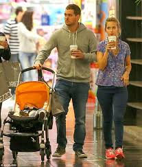 michael bublé cuddles luisana during family trip to mall