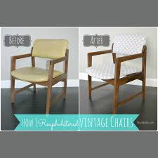 How To Upholster A Dining Chair Reupholstering Vintage Dining Chairs Tiny Sidekick