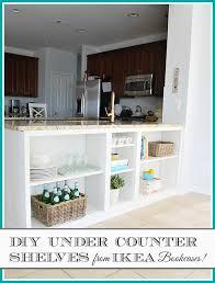 Kitchen Countertop Shelf Homeright Bookcase Challenge Diy Bookcase To Kitchen Shelves 11