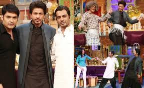 Shahrukh Khan House The Kapil Sharma Show Shah Rukh Khan Nawazuddin Siddiqui And