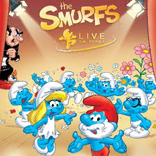 review smurfs live stage peanut gallery 24 7