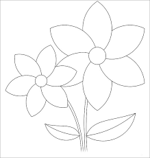 printable large flowers flower template also printable flowers rose large flower petal