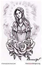 38 best mary tattoo outlines images on pinterest tattoo outline