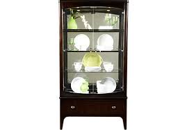 rooms to go curio cabinets shop for a metropolitan place curio at rooms to go find china