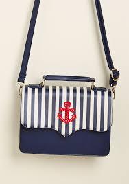 nautical bag banned namely nautical crossbody bag modcloth