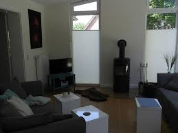 Wohnzimmer Modern Mit Ofen Ferienhaus Marschblick Fewo Direkt