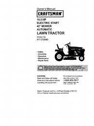 craftsman 917 272065 mower tractor clutch