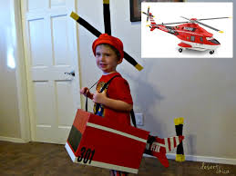 diy helicopter costume blade ranger disney planes fire