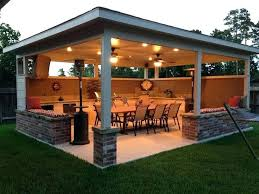 Covered Patio Designs Idea Covered Outdoor Patio Or Covered Patio Designs Plans 14