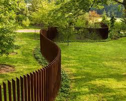 Backyard Fence Styles by Wonderful Making Of Backyard Fencing Homesfeed
