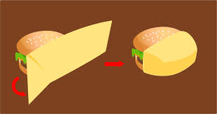 cheeseburger wrapping paper 3 ways to wrap a burger wikihow