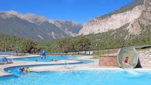 Colorado Tourism Map by Colorado Historic Springs Loop Colorado Com