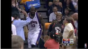 Shaq Bench Reddit User Brings Back The Time Shaq Cleared Suns Bench Which Is