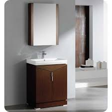 Bathroom Vanity Cabinets 24 Inches by Fresca Fvn8123wg Elissos 24 Inches Wenge Brown Modern Bathroom