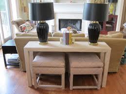 sofa table with stools underneath sofa table design sofa table with stools stunning contemporary