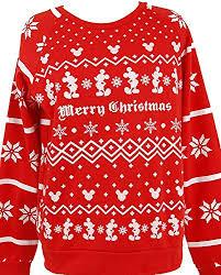 snoopy christmas sweatshirt disney womens junior mickey minnie mouse peanuts snoopy christmas