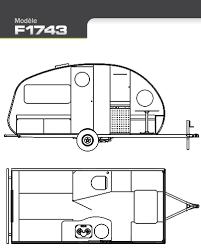 Small Rv Floor Plans Safari Alto F1743 Floor Plan From Starling Travel The Lightest
