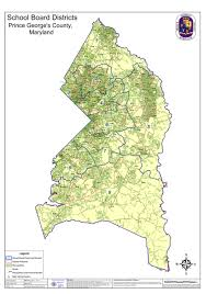 prince georges county map prince george s co new school board districts map creating a
