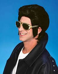 Greasers Halloween Costumes Amazon Forum Novelties Men U0027s 1950 U0027s Costume Greaser Wig