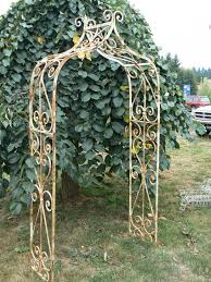 cast iron garden trellis home outdoor decoration