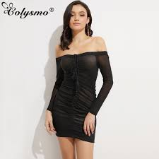 aliexpress com buy colysmo off shoulder lift up long sleeve