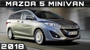 2018 Mazda 5 Minivan Youtube
