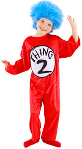 Funny Boy Halloween Costumes Dr Seuss 1 2 Kids Costume Funny Kids Costumes