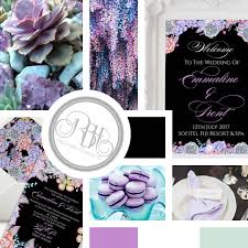 rbh designer concepts lilac purple u0026 mint with black background