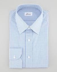 striped barrel cuff dress shirt blue size 15 5r charvet