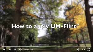 how to apply university of michigan flint