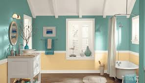 bathroom paint designs 7 great colors for painting bathrooms