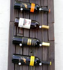 vertical reclaimed wood wine rack features reclaimed wood