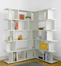 White Corner Bookcase 30 Corner Shelf Ideas Ambie