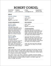 Business Resumes Templates 87 Best Business Resume Images On Pinterest Resume Ideas