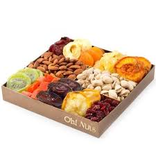 dried fruit gift nut and dried fruit gift tray healthy snack gift box great gift