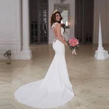 wedding dress murah 2017 back mermaid wedding dresses cheap cutaway side lace