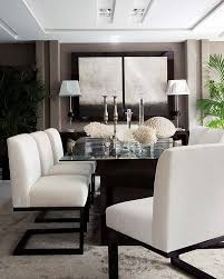 Black And White Dining Room Chairs 349 Best Chic Dining Rooms Images On Pinterest Dining Room