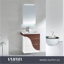 bathroom cabinets cheap single pace wooden bathroom furniture